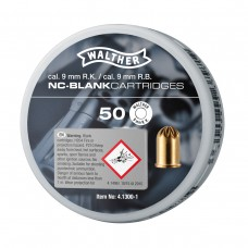 50x Walther 9mm Revolver Knall Nitrocellulose