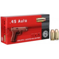 .45AUTO Geco Jacketed Hollow Point