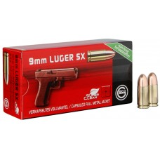 9mm Luger SX Geco Capsuled Full Metall Jacket