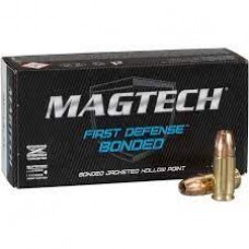 9mm Luger Magtech Jacketed Hollow Point First Defense Bound