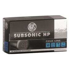 .22lfb RWS Sub-Sonic Hollow Point