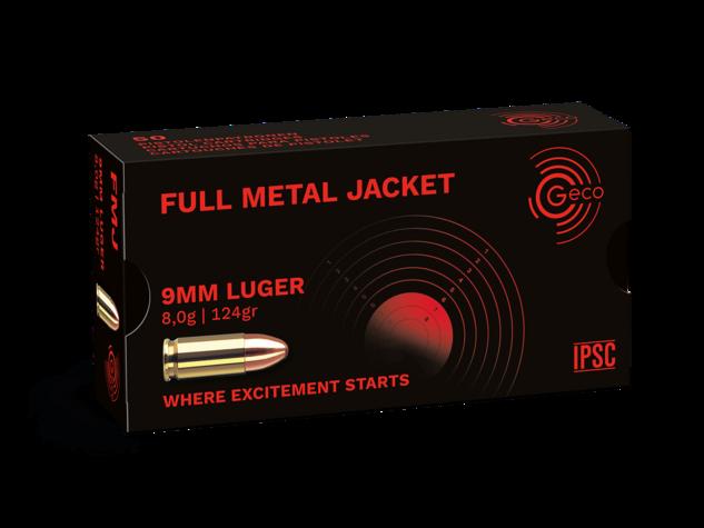 9mmLuger Geco 8,0g Full Metall Jacket